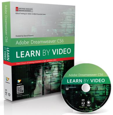 Adobe Dreamweaver Cs6 By Video2brain (COR)/ Powers, David